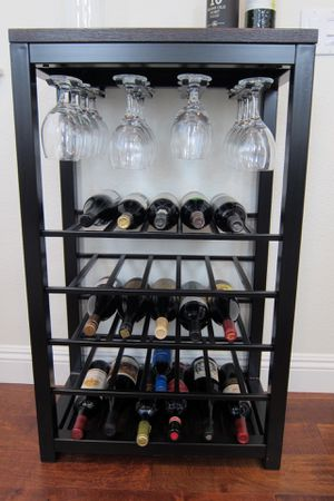 Crate & Barrel Wine Rack for Sale in San Marcos, CA