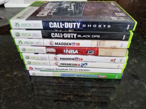 GAMES FOR XBOX 360 for Sale in Lawrenceville, GA