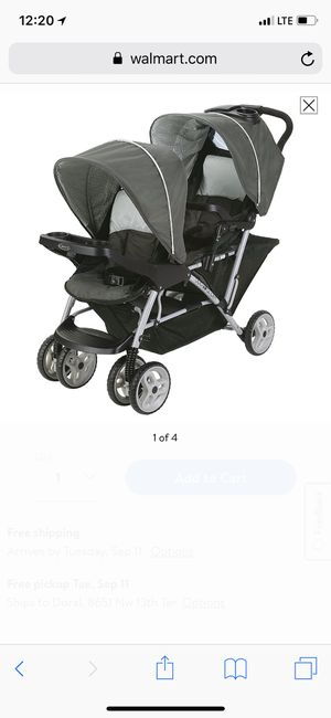 Graco double stroller for Sale in Pembroke Pines, FL
