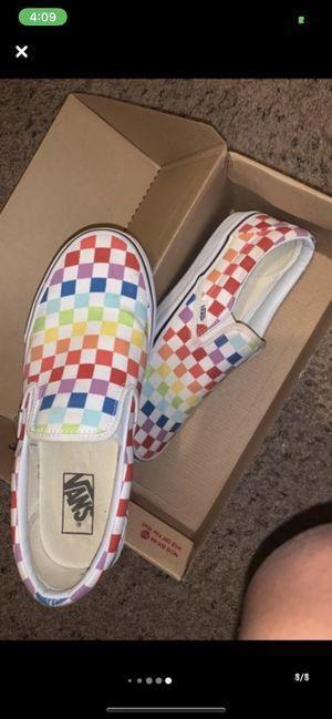 Rainbow vans for Sale in Missouri City, TX