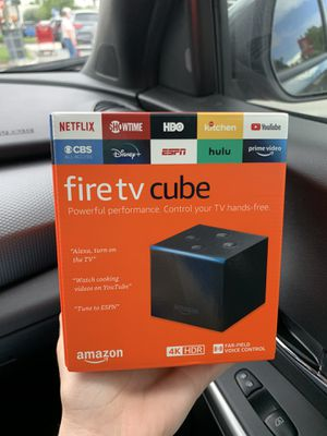 Fire TV Cube 4K for Sale in Hollywood, FL