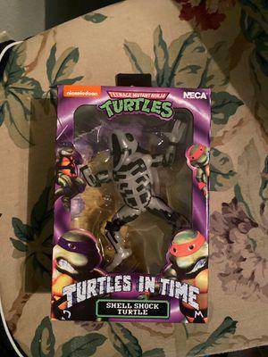 Neca Turtles in Time Shellshock Turtle for Sale in Fresno, CA