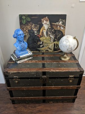 Vintage / Antique Steamer Trunk for Sale in Raleigh, NC