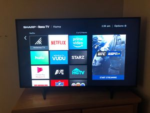 50 inch Roku Sharp Smart Tv for Sale in Warren, MA