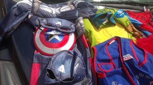 4 boys costumes, 2 vest for Sale in Beaverton, OR