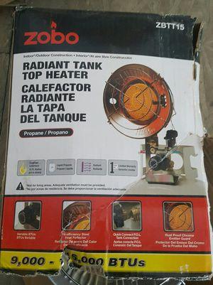 ZOBO 15,000 BTU Propane Tank Top Heater for Sale in Las Vegas, NV
