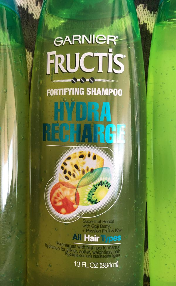 3 Garnier Fructis Shampoo. Please see all the pictures and read the description