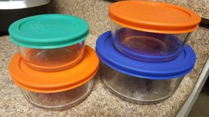 Pyrex Brand Glass Bowls with Lids for Sale in Placentia, CA