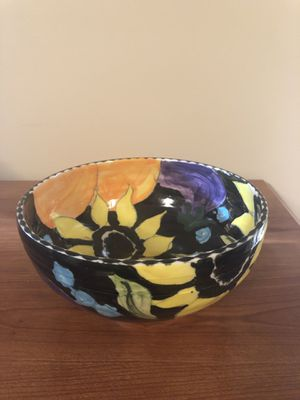 Hand made colorful bowl for Sale in Herndon, VA