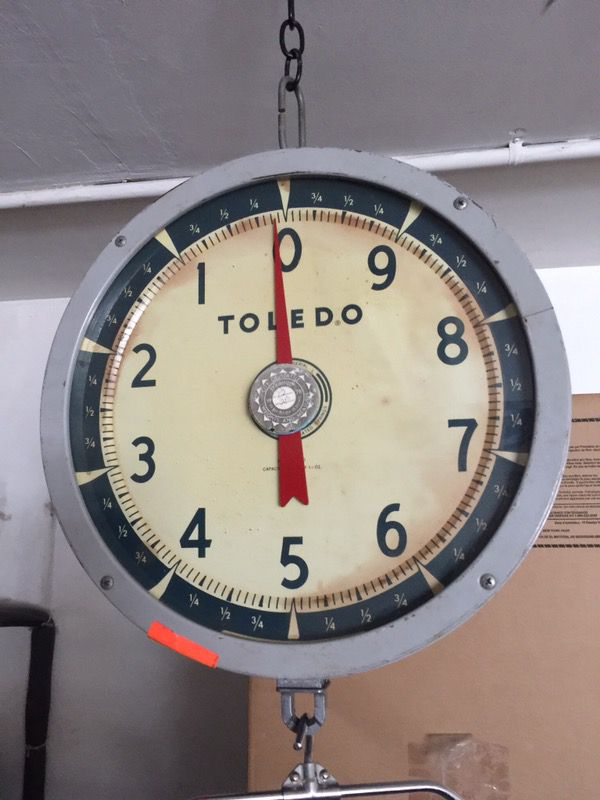 (Vintage) Toledo Hanging Scale for Sale in Milwaukie, OR - OfferUp