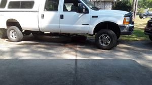 Ford f350 7.3l Manuel six speed. 100 gallon transfer tank in bed for Sale in Navarre, FL