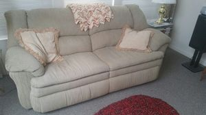 Sofa with 2 retractable foot rests for Sale in Philadelphia, PA