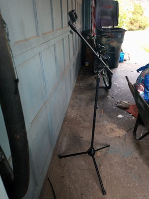 On Stage Stand Heavy Duty TeleBoom Mic Stand for Sale in Tacoma, WA