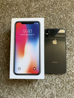 iPhone X 256 GB Factory Unlocked for Sale in Calabasas, CA