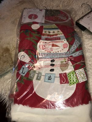 Brand new Pier 1 Light up LED Christmas tree skirt for Sale in Palm Harbor, FL