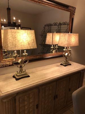 Lamps- Fleur de Lis for Sale in Scottsdale, AZ