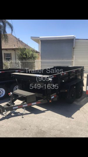 8.5x12x1 HD dump trailer $7699* for Sale in Chino Hills, CA