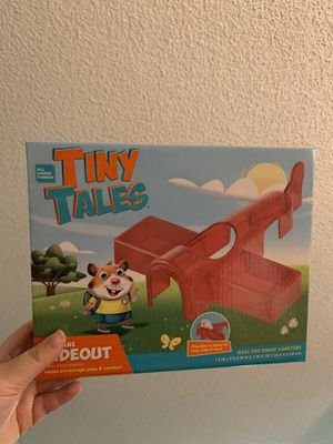 Tiny Tales Airplane Hideout for Dwarf Hamsters for Sale in Covina, CA