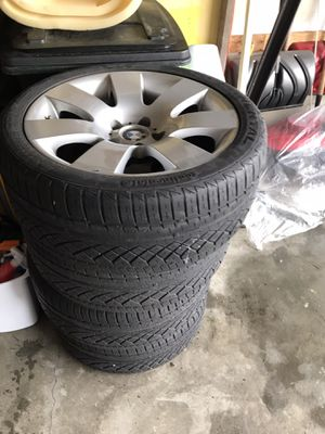 BMW 2005 series 5 530i 4 tires. for Sale in OH, US