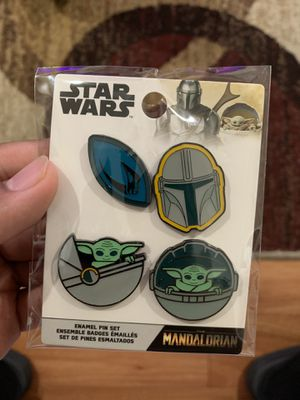 "Disney Funko Star Wars ""The Mandalorian"" Enamel Pin Set for Sale in Los Angeles, CA"
