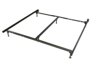 Used metal bed frame. King size. for Sale in Fort Worth, TX