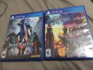 Devil May Cry 5 and Kingdom Hearts 3 for Sale in Coral Gables, FL