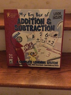 Addition & subtraction games board for Sale in Queens, NY
