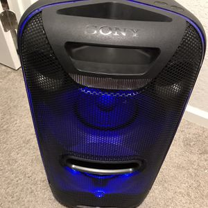 SONY Sony XB72 High Power Home Audio System with Bluetooth Technology (GTK-XB72), Black for Sale in Sanford, FL