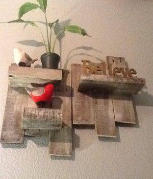 Wall shelves for decor for Sale in Bakersfield, CA