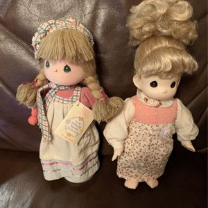 2- Vintage Precious Moments 2-Dolls 1988-1996-collectible Dolls 2- For less than One Doll.. for Sale in Kissimmee, FL