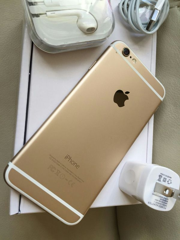 Iphone 6, 64GB - excellent condition, factory unlocked, includes new box & accessories