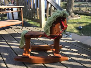 Vintage Wood Toddlers Rocking Horse | Restored Great Condition for Sale in Washington, DC