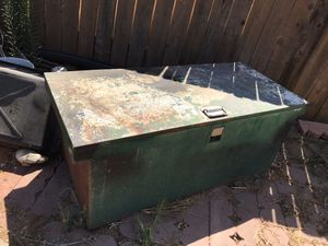 Steel box 55 x 24 x 21in tall for Sale in Riverside, CA