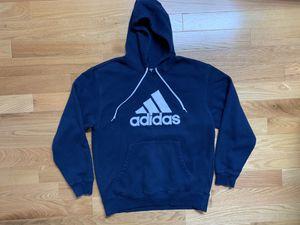 Adidas 3 Stripes Big Logo Embroidered Hoodie Sweatshirt for Sale in Boston, MA