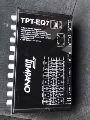 7 Band Eq for Sale in Hartford, CT