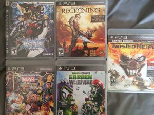 PS3 games for Sale in Chula Vista, CA