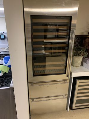 """Sub-Zero 30"""" Designer Wine Storage with Refrigerator drawers (Stainless Panels) Formerly integrated (IW-30R-LH)(Brand New) **Closeout** for Sale in Longwood, FL"""