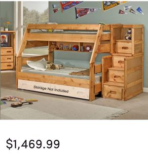 Bunk bed solid wood for Sale in Federal Way, WA