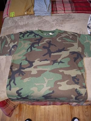 Mens Size XL M.O.C Army Camo T shirt for Sale in Torrance, CA