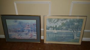 Pair of Decorative frames for Sale in Westlake, MD