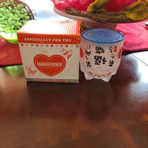 Valentine cups in Japanese for Sale in Fort Worth, TX