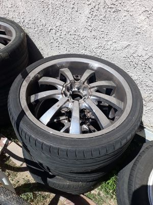 Rims and tires for Sale in Moreno Valley, CA