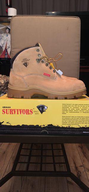 Herman Survivors Work Boots size 11 for Sale in Woodbridge, VA