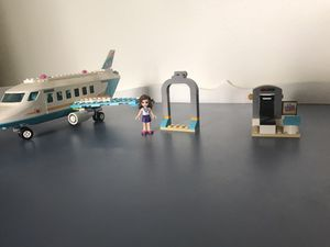 Lego friends airplane and airport for Sale in Tacoma, WA