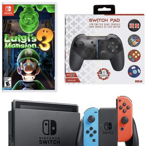 Brand New Nintendo Switch Luigi's Mansion 3 Game & Console Bundle for Sale in Hialeah, FL