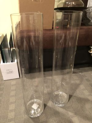 3 feet long glass vase for Sale in Brooklyn, NY