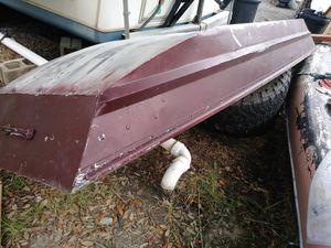 aluminum Jon boat $400 obo for Sale in Jesup, GA