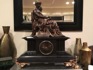 Antique French Japy Freres Mantel Clock for Sale in Los Angeles, CA