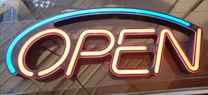 Open led sign for Sale in Irving, TX