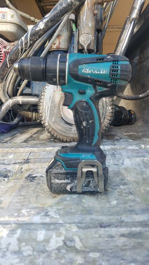 Makita drill with battery for Sale in Poway, CA